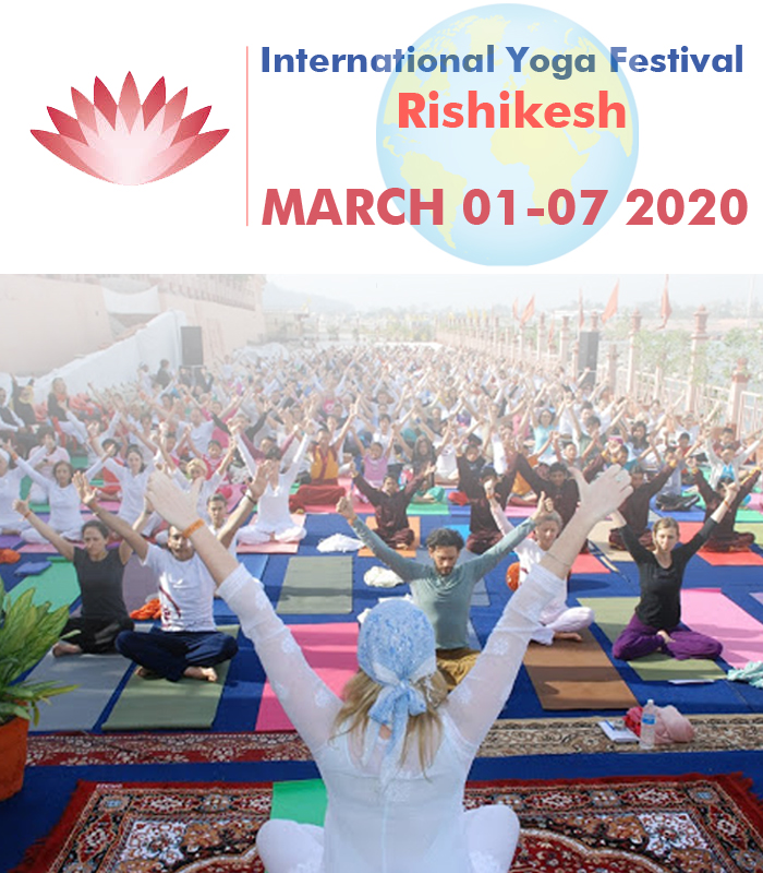 Head to International Yoga Festival at Rishikesh the 'Yoga Capital of the World'