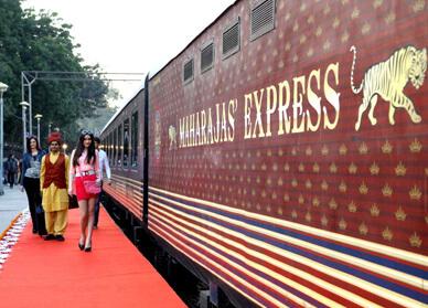 Maharajs Express at Delhi