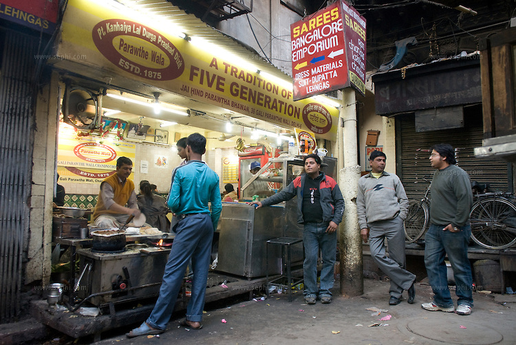 Parathe Wali Gali, Old Delhi-foodie trail