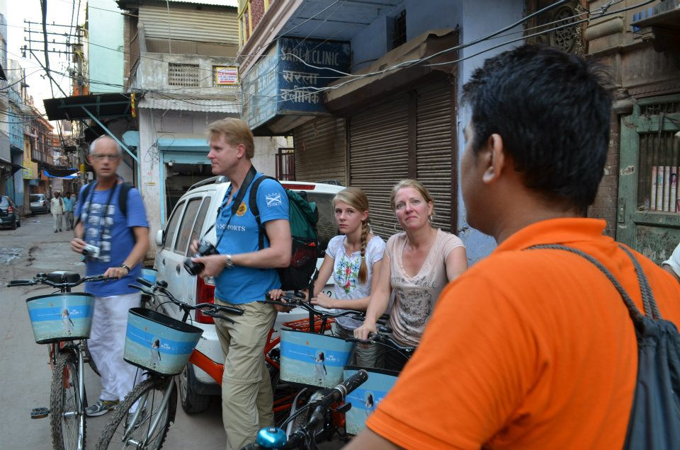 Cycle tour in Old Delhi
