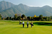 Golf in Srinagar, Kashmir